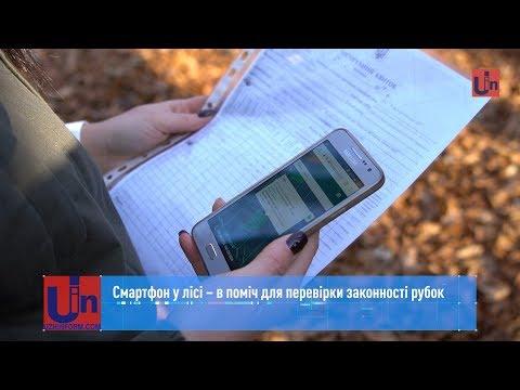Смартфон у лісі – в поміч для перевірки законності рубок