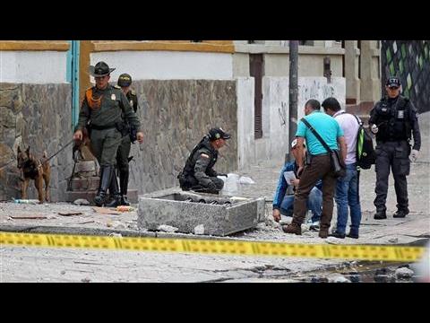 Blast Near Colombian Bullring Injures Dozens