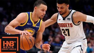 GS Warriors vs Denver Nuggets Full Game Highlights | 01/15/2019 NBA Season