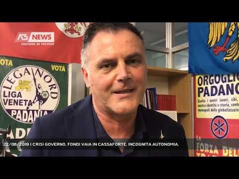 22/08/2019 | CRISI GOVERNO, FONDI VAIA IN CASSAFOR...