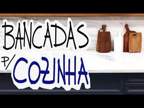 PEDRA PARA BANCADA DA COZINHA E BANHEIRO