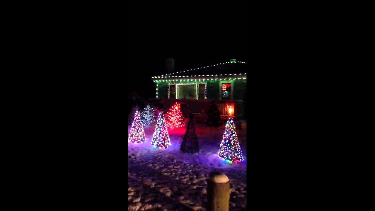 Christmas Lights In Madison Ohio Youtube