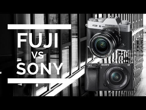 Fuji X-T20 or Sony a6300 - What Should I Buy?