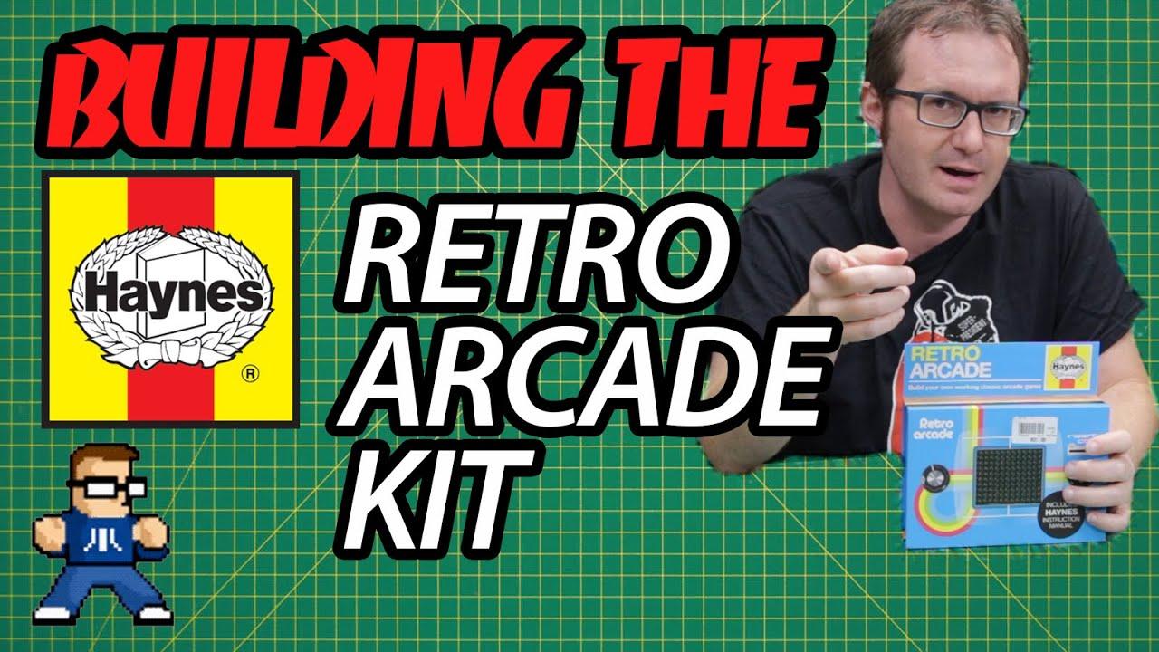 Building the Haynes Retro Arcade Electronics Kit
