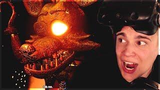 """FOXY SIĘ """"PALI"""" DO PRACY ( ͡° ͜ʖ ͡°) -  Five Nights at Freddy's VR: Help Wanted #11"""