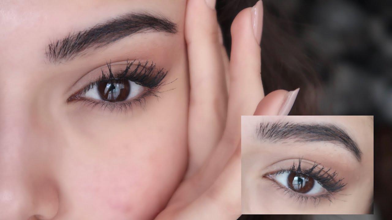 GÖZLERİMİ NASIL ÇEKİK GÖSTERİYORUM?   Göz Kalemi&Farla Gözü Çekik Göstermek + Badem Göz Makyajı ✮