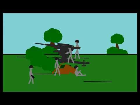 WW2 Tank Ambush   A Pivot Animation.