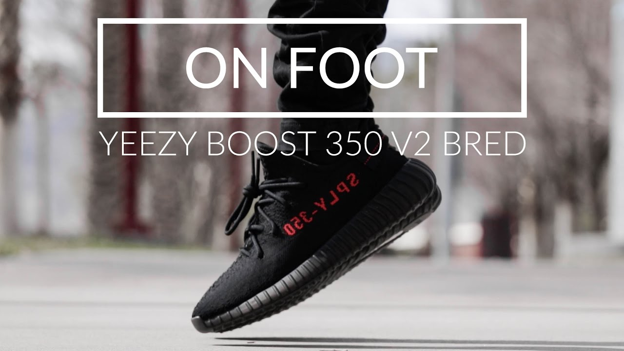 Adidas yeezy 350 v2 bred. Leeds City Center, West Yorkshire