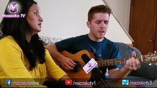 Mazzako Guff with Peter McDonough & his wife || नेपाली गीत गाउने अमेरिकन ठिटो || Mazzako TV
