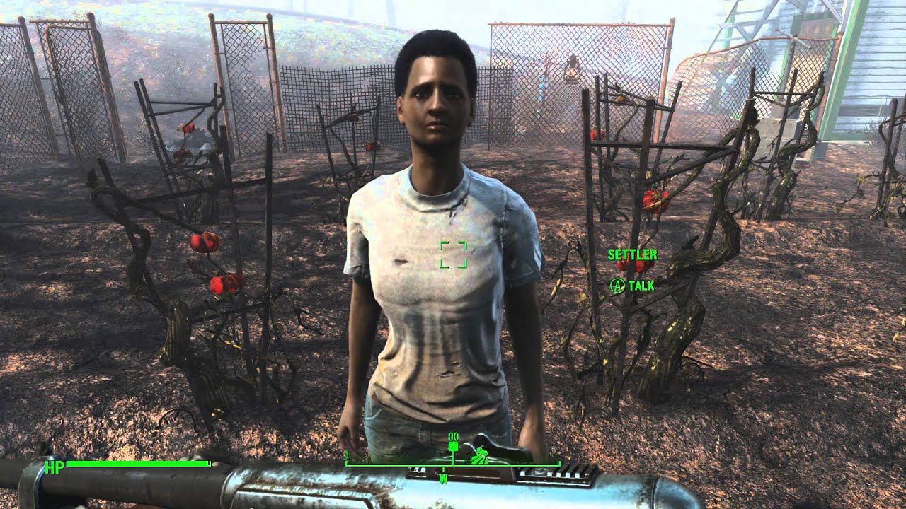 how to get the ufo to crash fallout 4