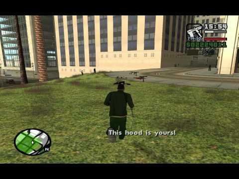 Gta San Andreas - Bölüm 10 - Green Park