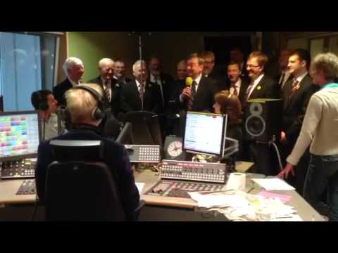 The The London Welsh Rugby Club Choir Singing Live On BBC Radio 2