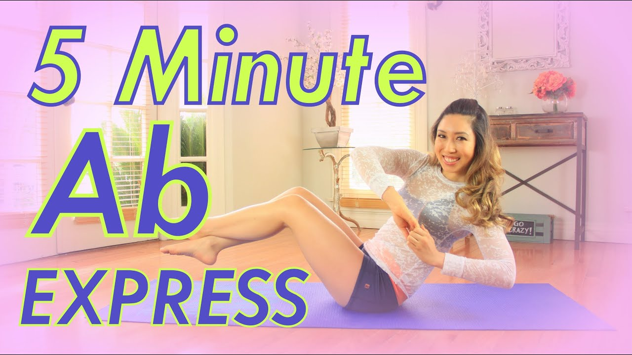5 Minute Ab Express Workout  Created by BioGilates