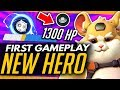 Overwatch | WRECKING BALL GAMEPLAY - NEW ABILITIES & ULTIMATE