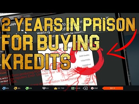 Warface: 2 Years In Prison For Buying Kredits ??