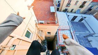 Barcelona Rooftop Parkour POV