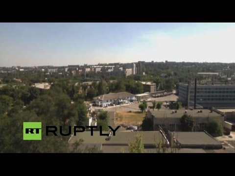 LIVE Donetsk skyline