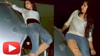 Katrina Kaif Performs Stunts For Dhoom 3 -- Leaked PHOTOS