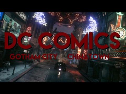 MINECRAFT DC COMICS MAP - CHINATOWN - YouTube