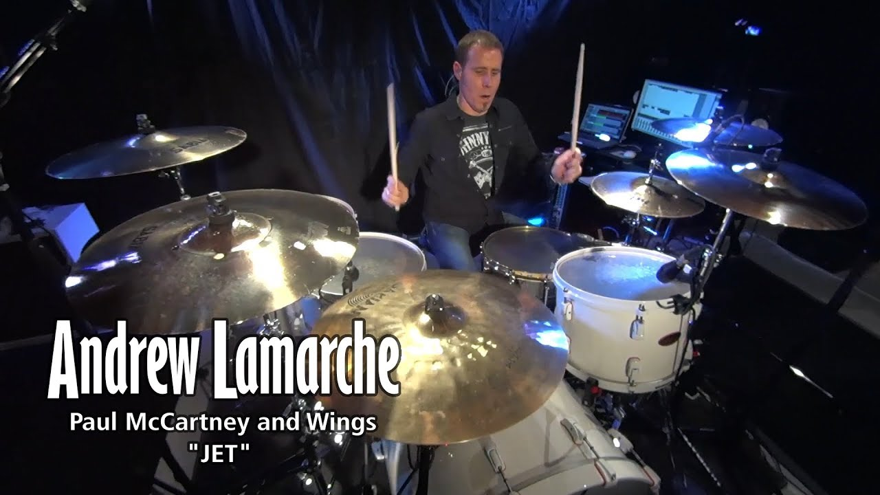 paul mccartney and wings jet drum cover youtube. Black Bedroom Furniture Sets. Home Design Ideas