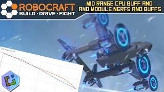 Robocraft - Mid Range CPU buff and Module nerfs and buffs