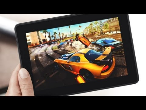 "Amazon Kindle Fire HDX 7"" First Look"