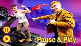 PAUSE and PLAY 24 ΩΡΕΣ! ΠΑΡΑΛΙΓΟ ΝΑ ΣΠΑΣΕΙ ΤΟ ΧΕΡΙ ΤΟΥ Ο STAS! Πολύ εξτρίμ Pause & Play!