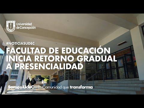 #NoticiasUdeC: Facultad de Educación #UdeC inicia retorno gradual a presencialidad