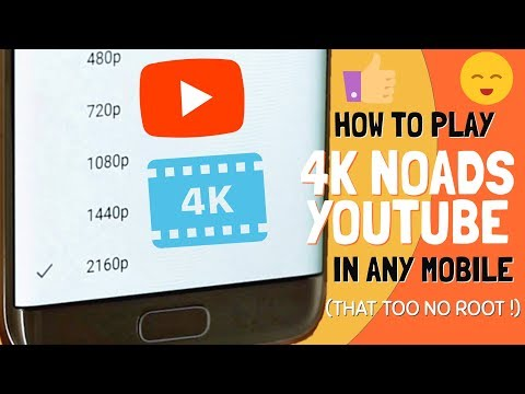 Enable 4K & 2K Videos on Youtube in any Android Device | No Ads