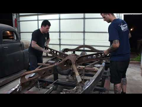 How to Install A 42-48 Ford X-Member in a 1932 Ford Frame- Sweet Heart Roadster Ep. 23
