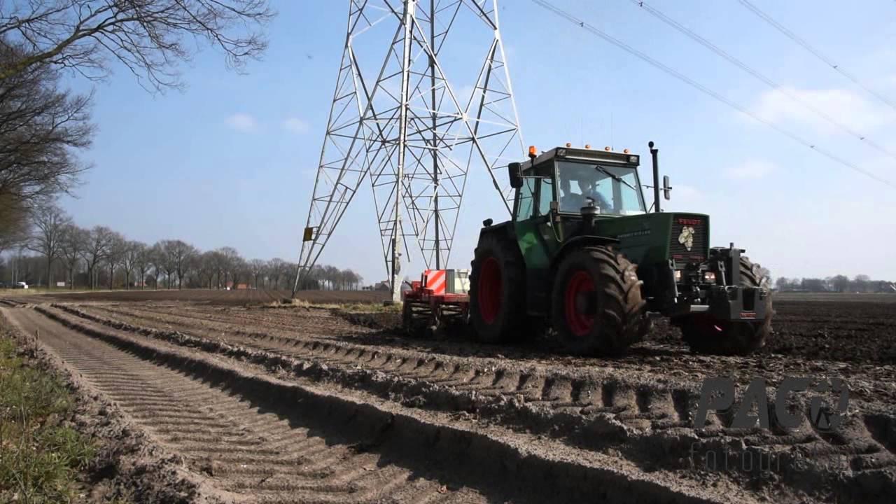 Aardappelen teelt bedrijf Geraats cultiveren 2016 - YouTube