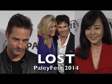 LOST 10th Anniversary Reunion PaleyFest Ian Somerhalder, Maggie Grace, Josh Holloway