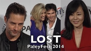 lost 10th anniversary reunion paleyfest ian somerhalder maggie grace josh holloway