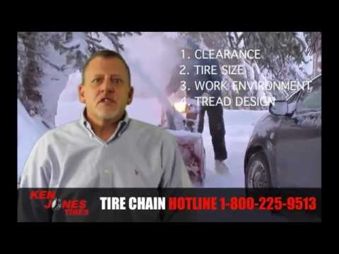 How to Choose the Right Snowblower Tire Chains | Call 1-877-844-2010