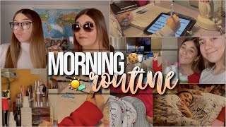 LA NOSTRA MORNING ROUTINE☀️// dad, videolezioni, tijn