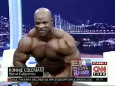 Ronnie Coleman in the Turkish CNN TV