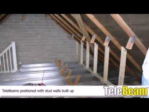 Telebeam Loft Conversion The Process Youtube