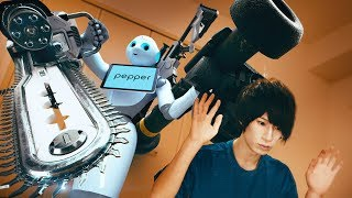 WTF!!? My new robot is crazy!!! | RATE