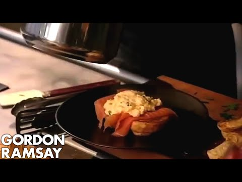 Ramsay's Classic Scrambled Eggs and Smoked Salmon - Gordon R