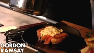 Ramsay's Classic Scrambled Eggs and Smoked Salmon - Gordon Ramsay