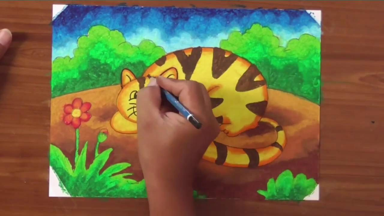 Menggambar Kucing Pemula Youtube