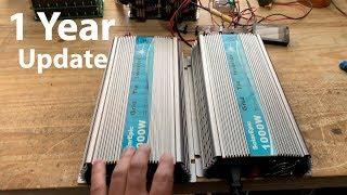 Cheap 1kw Grid Tie Inverter 1 year UPDATE