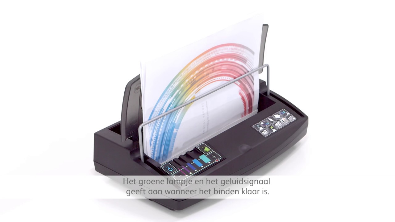 Gbc Hoe Werkt Thermisch Inbinden Instructie Video Nl Youtube Wiring Diagram