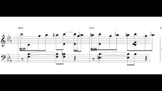 I Concentrate on You - jazz standard - Piano sheet music