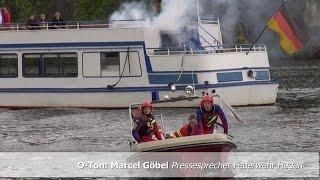 NRWspot.de | Trailer Schiffsbrand auf dem Hengsteysee Großübung 20 Verletzte