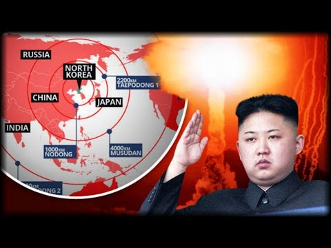 NUCLEAR STAND-OFF INTENSIFIES AS NORTH KOREA WARNS IT IS READY TO LAUNCH FRESH ATTACK OVER 'US MILIT