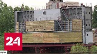Смотреть видео Батопорт по-волгоградски: создано уникальное гидротехническое сооружение онлайн