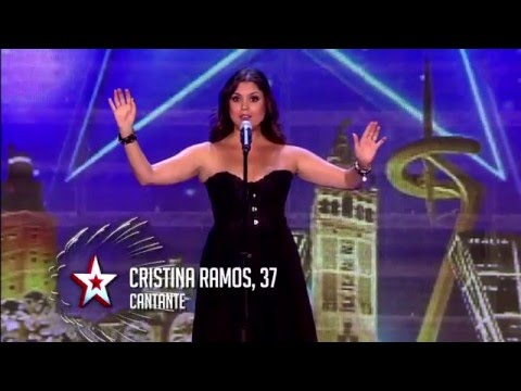 Cristina Ramos - Got Talent  2016 Opera Rock - Highway to he