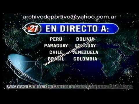 ARCHIVO DIFILM APERTURA NOTICIERO AMERICA NOTICIAS 31/12/98