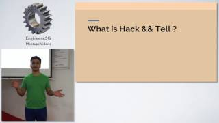 Hack && Tell Singapore at Viki! Opening Statements - SG Hack & Tell